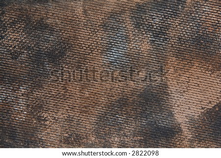 Grunge sponge, close up texture of rubber tile grouting float