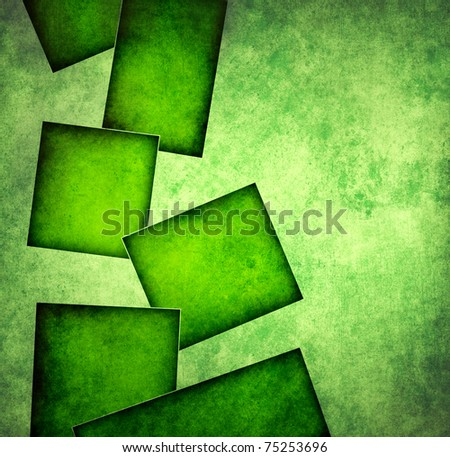 Grunge square background - stock photo