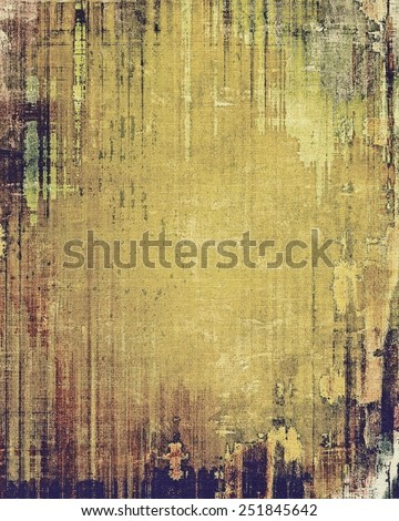 Grunge stained texture, distressed background with space for text or image. With different color patterns: yellow (beige); brown; gray; purple (violet)