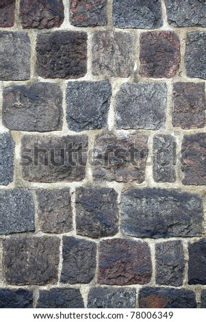 grunge stone wall background outdoor