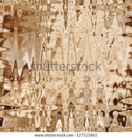 Grunge striped and stained background in brown and beige colors