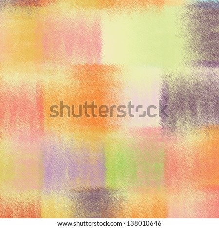 Grunge striped quilt  colorful background in pastel colors