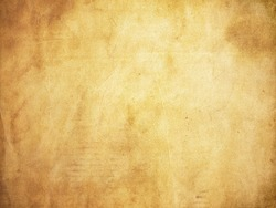 Grunge style paper background with stains and creases