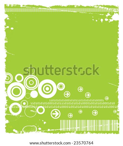 Grunge Tech Background Available in Green(vector+JPG), Blue(JPG only) and Black(JPG only).