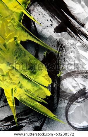 Grunge texture expressive brush strokes