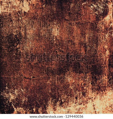 Grunge texture. For vintage layout design, holiday background invitation or web template