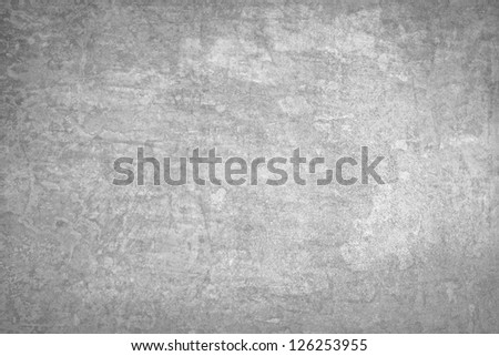 Grunge  texture of a dilapidated wall in a gray tone