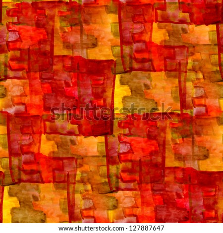 grunge texture, watercolor red yellow seamless background drawn background, business background, abstract background, retro background
