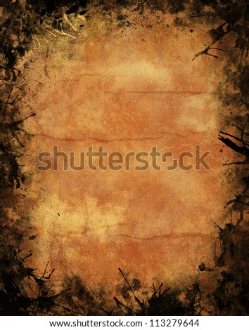 Grunge textured background for halloween poster