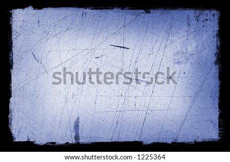 Grunge textured Background with Border