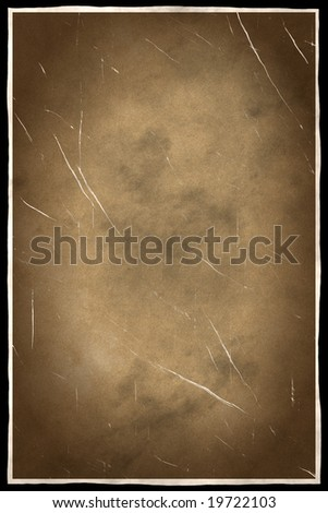 Grunge textured  frame with space for your text or image