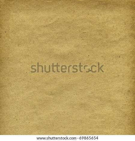 Grunge textured grainy recycled retro paper with natural fiber parts