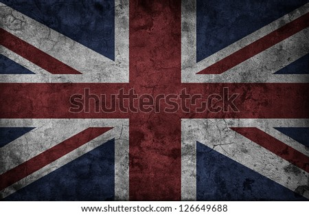 Grunge UK national flag #126649688
