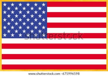 Grunge USA Flag #675996598