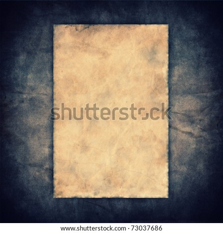 Grunge vintage old paper on canvas texture background