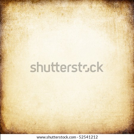 Grunge vintage paper square background.