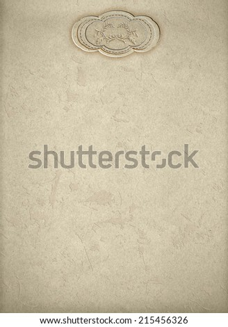 grunge vintage paper texture with pattern