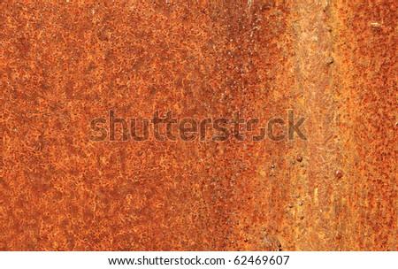 grunge vintage rusty metal plate texture, background image