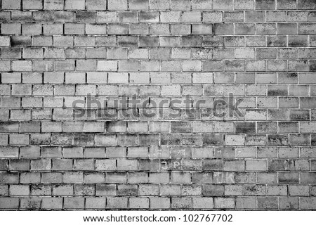 grunge wall texture, black and white version