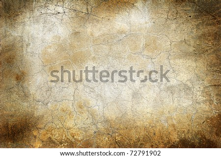Grunge wall with cracks