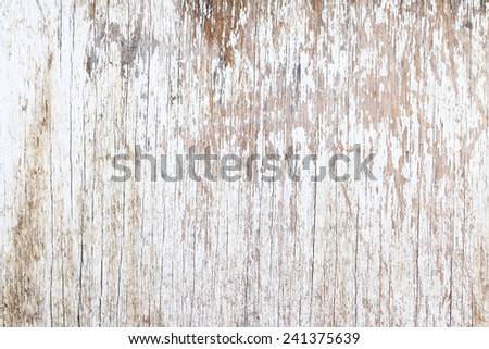 Grunge white wood, can be used as background. #241375639