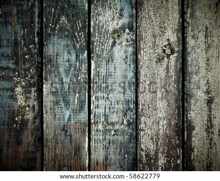 Grunge wood for background - stock photo