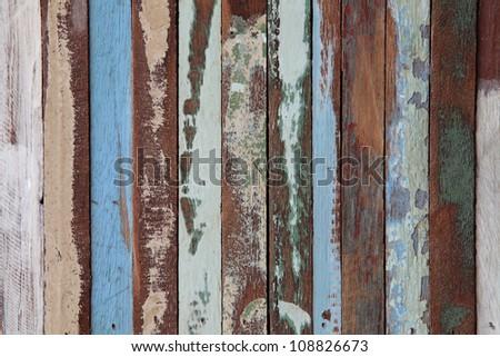 grunge wooden panel