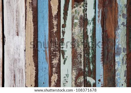 grunge wooden tile.