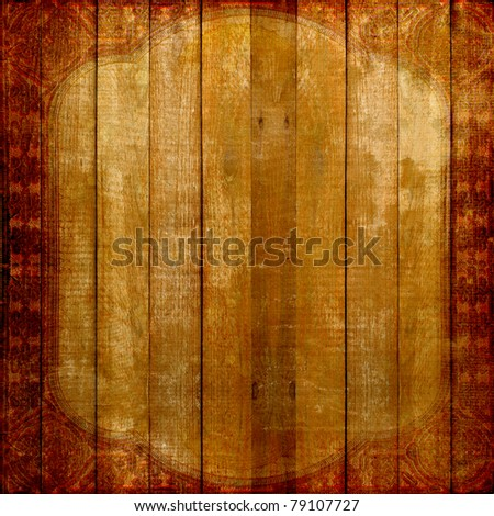 Grunge wooden vintage scratch background . Abstract backdrop for illustration