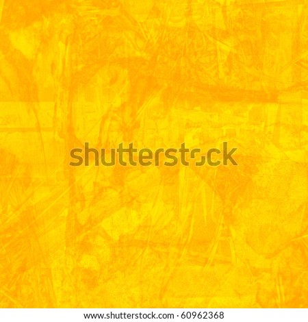 Grunge Yellow Background