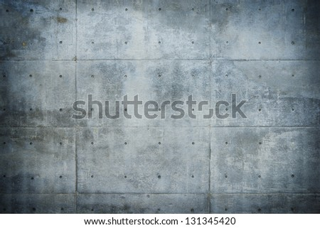 Grungy and dark Raw or bare concrete wall.