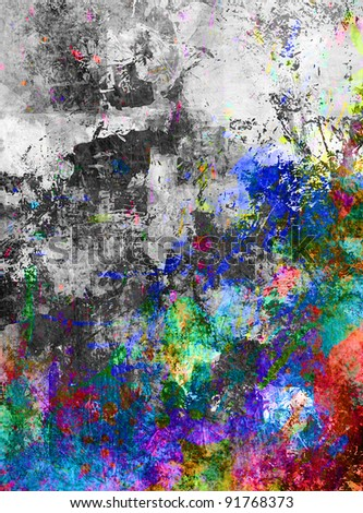 grungy background in different colors and textures