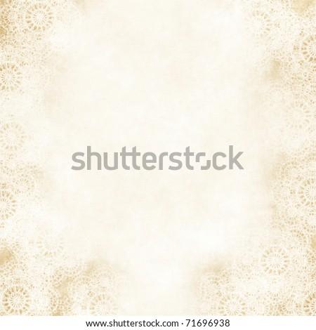 stock photo Grungy Backgroundold paper wiht lace retro wedding invitation