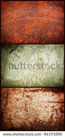Grungy background rust, plastic, paint