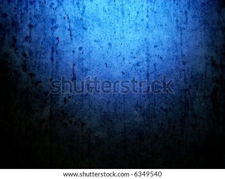 grungy blue background horizontal