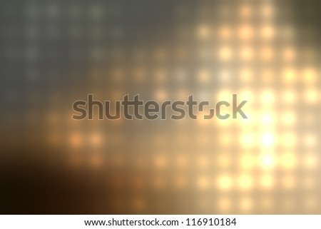 grungy blurred background of colored lights