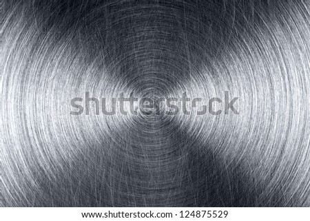 Grungy brushed industrial metal surface
