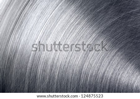 Grungy brushed industrial metal texture