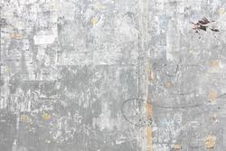 Grungy metal wall