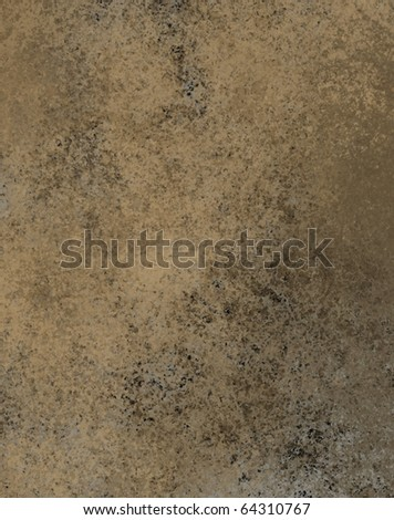 grungy mud colored brown background with leathery texture - stock photo