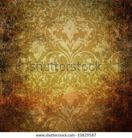vintage wallpaper. old vintage wallpaper with