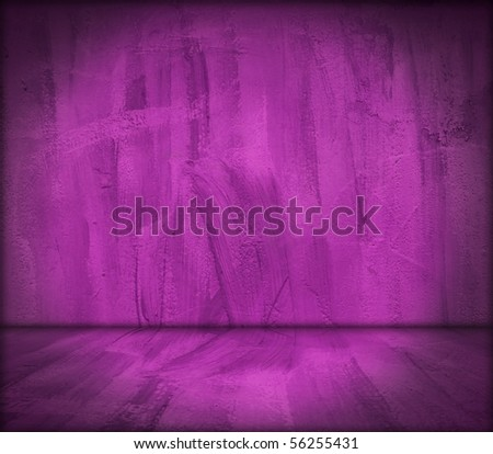 Grungy Purple Room