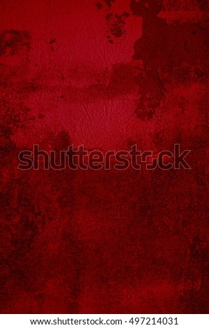 Grungy red background with scratches #497214031