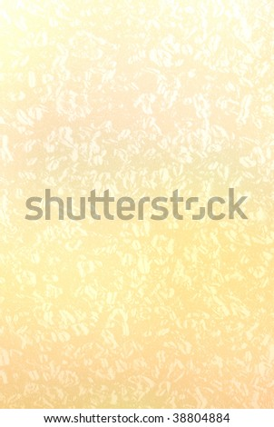 Grungy speckled parchment paper. - stock photo
