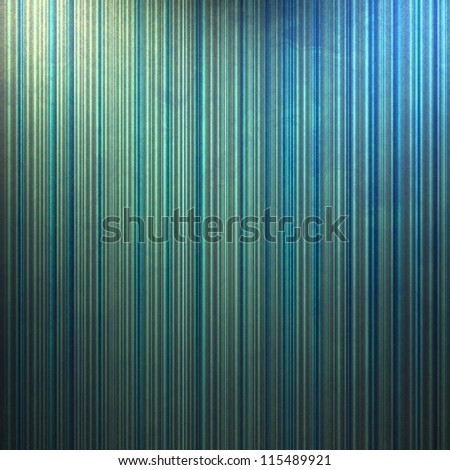 grungy stained abstract blue background wallpaper design illustration with vertical stripes and corner lighting and vintage grunge background texture layout for brochure paper or web template backdrop