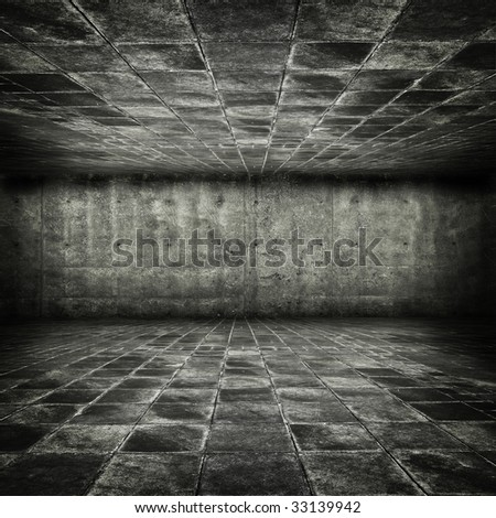 Grungy stone dungeon
