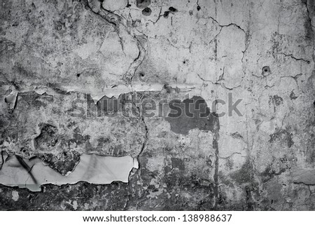 Grungy vintage wall stone texture background