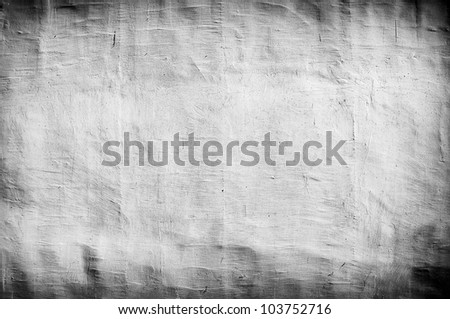 grungy white vintage background with artistic shadows added