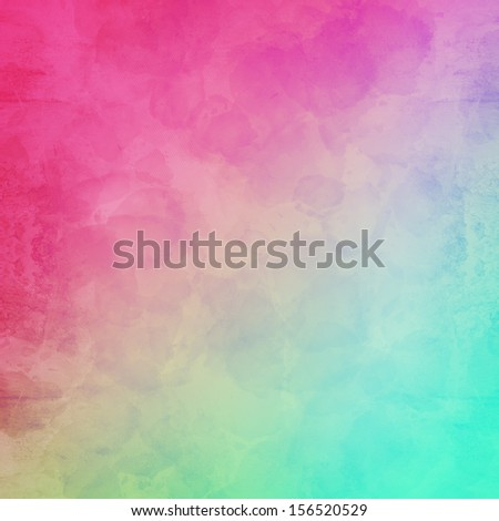 Grungy yellowed rainbow textured background