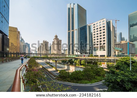 Guangdong City, a big city on the southern of China #234182161